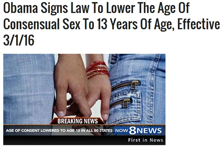 Legal age for sex in fl