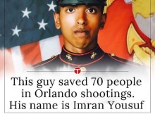 Former Muslim U.S Marine Saved at Least 70 People From Inside Orlando Nightclub
