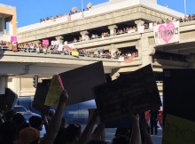 Protest at LAX Airport