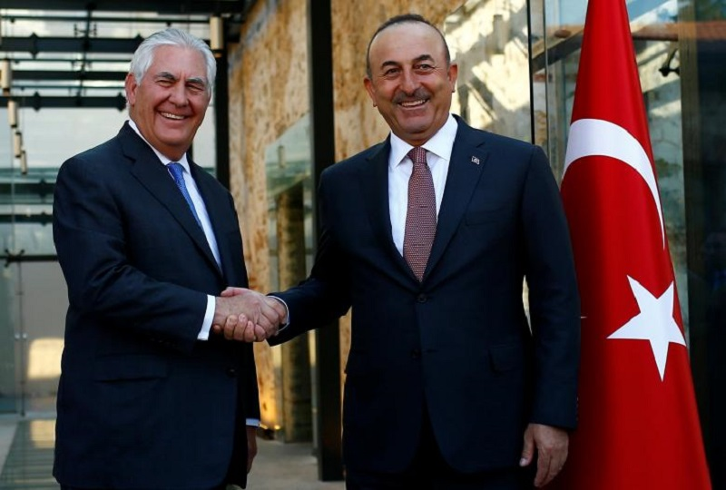 Important visit of the U.S Secretary of State to admire Turkish People