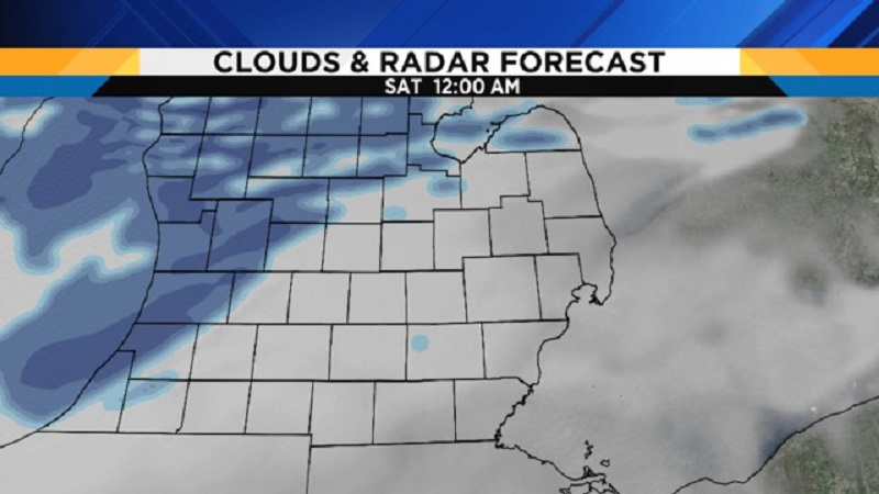 More Snow Predicted on Weekend by the Metro Detroit Weather Forecast